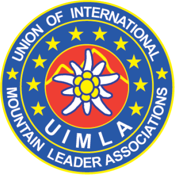 Logo UIMLA, Union of International Mountain Leader Associations